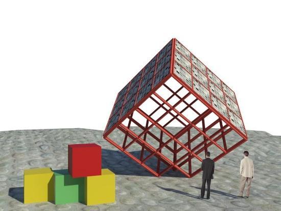 "geotectura - אדריכל ד""ר יוסי קורי - הקוביות הסולאריות"