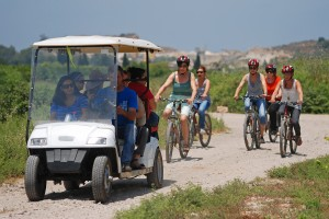 טיול אופניים חשמליים